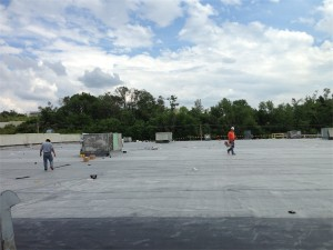 Spectrum Building Roof Fix