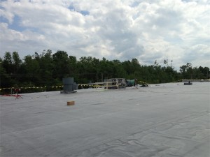 Spectrum Building Roof Fix